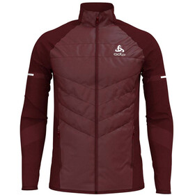 Odlo Irbis X-Warm Hybrid Jacket Seamless Men syrah-fiery red